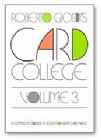 Card College Volume 3 by Roberto Giobbi